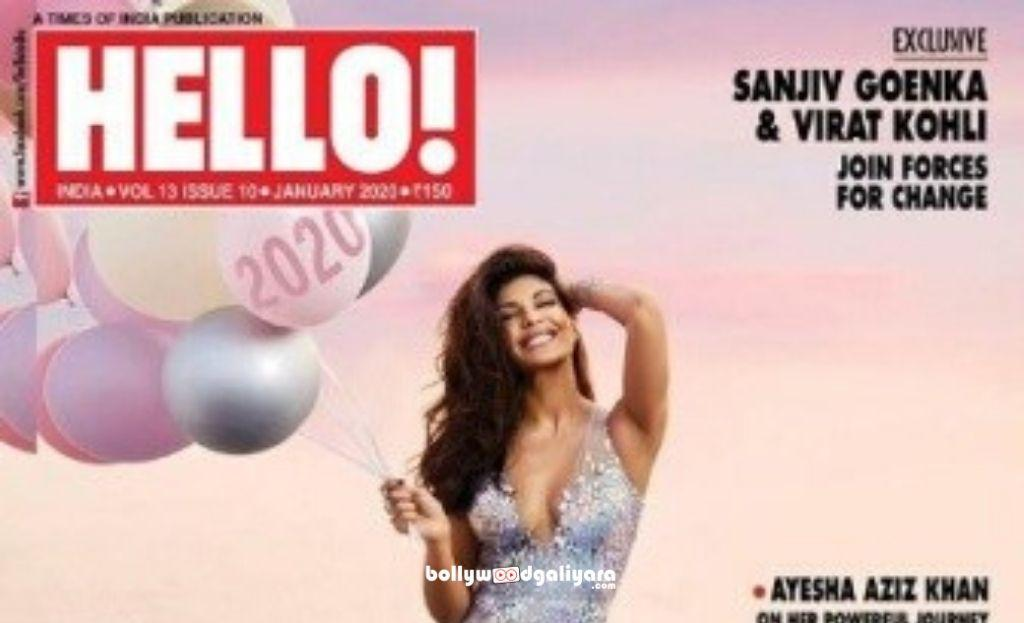 ​Jacqueline Fernandez Looks Gorgeous On Hello India Cover
