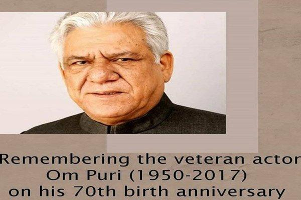 YT channel launched on Om Puri's 70th birth anniversary