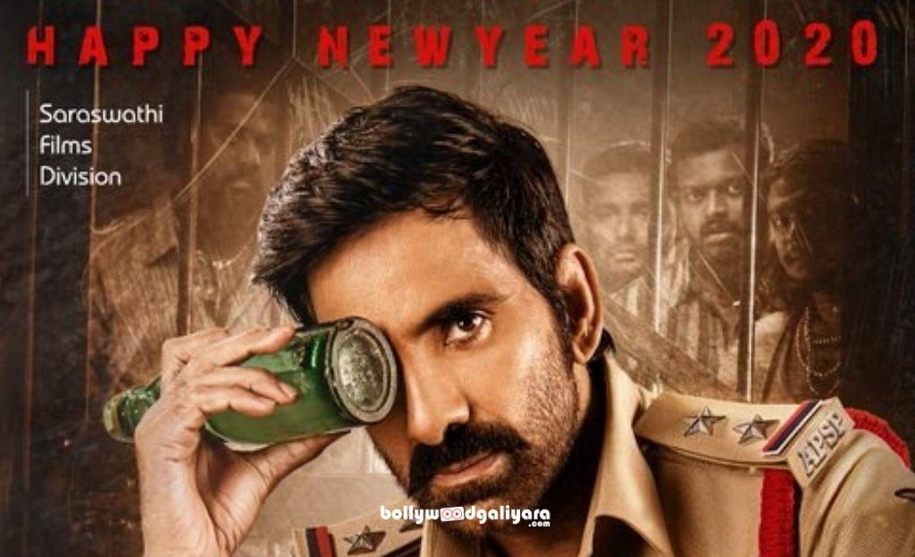 Happy New 2020 Wishes Ravi Teja With Krack Poster