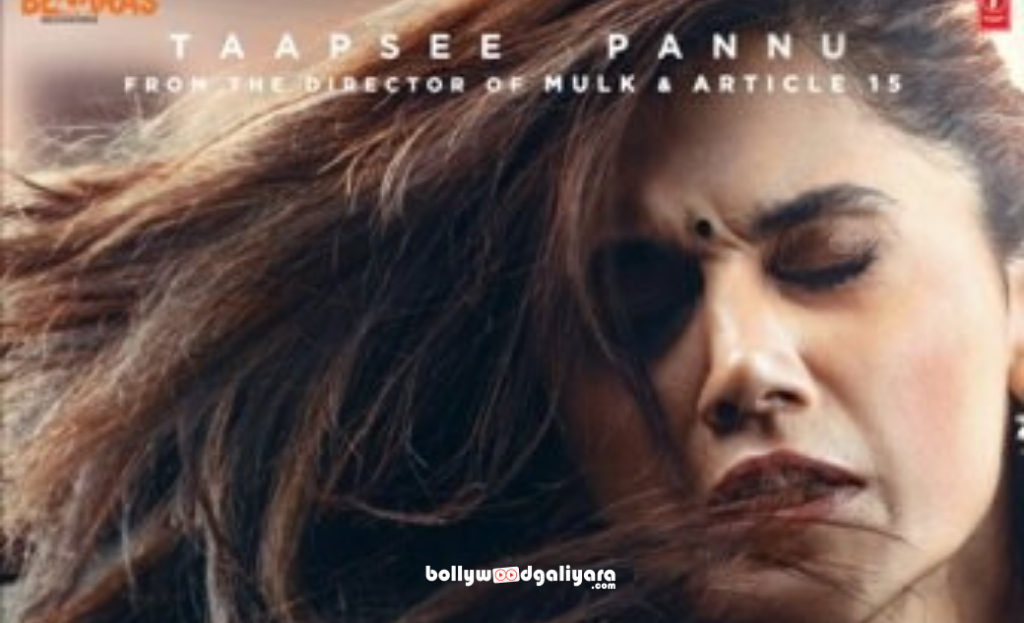 After getting slapped for 7 times, got the real shot of Thappad, says Taapsee Pannu