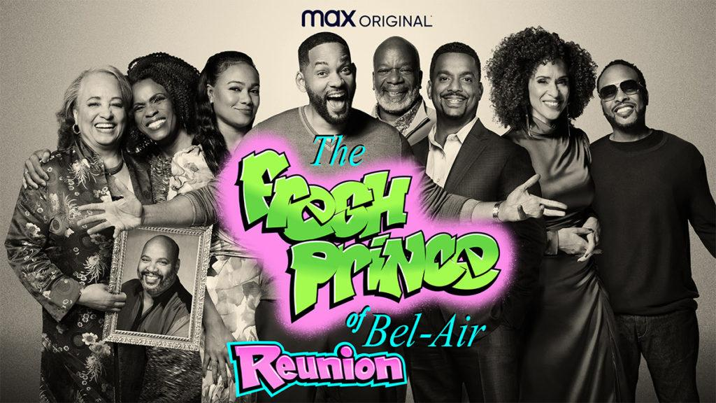 The Fresh Prince of Bel-Air Reunion Special is on HBO Max.