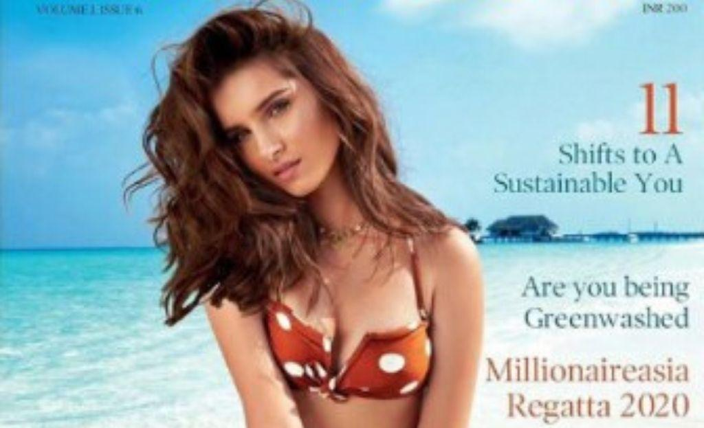 Tara Sutaria Sizzles On The Magazine Cover Of Global Spa