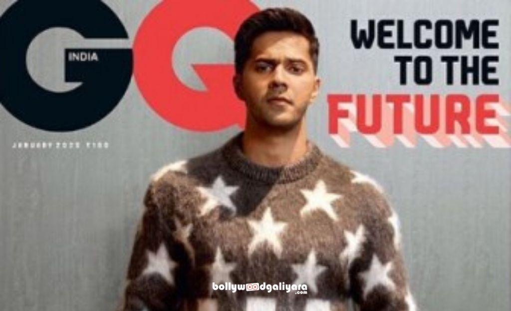 Varun Dhawan Welcome 2020 With GQ Cover