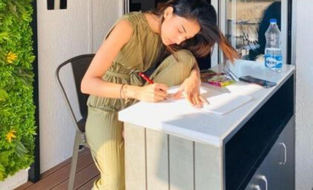 Drawing Keeps me calm and focussed says Erica Fernandes