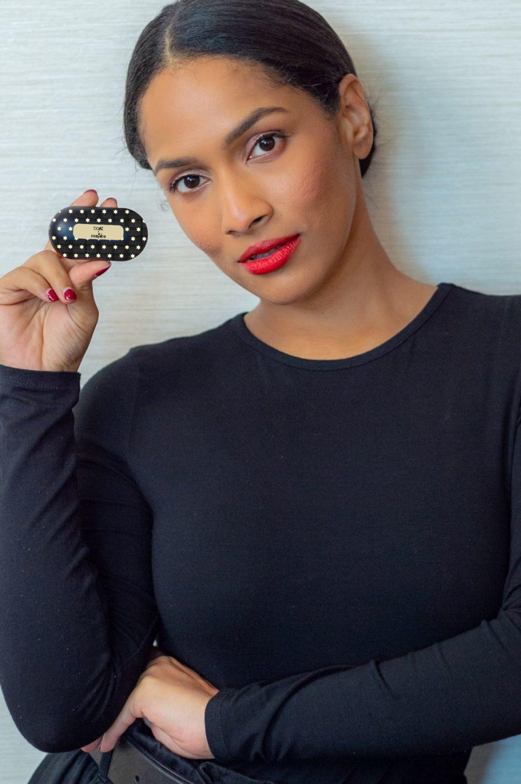 Masaba Gupta; launches a limited edition of headphones designed for the millennial at Lakmé Fashion Week 2020