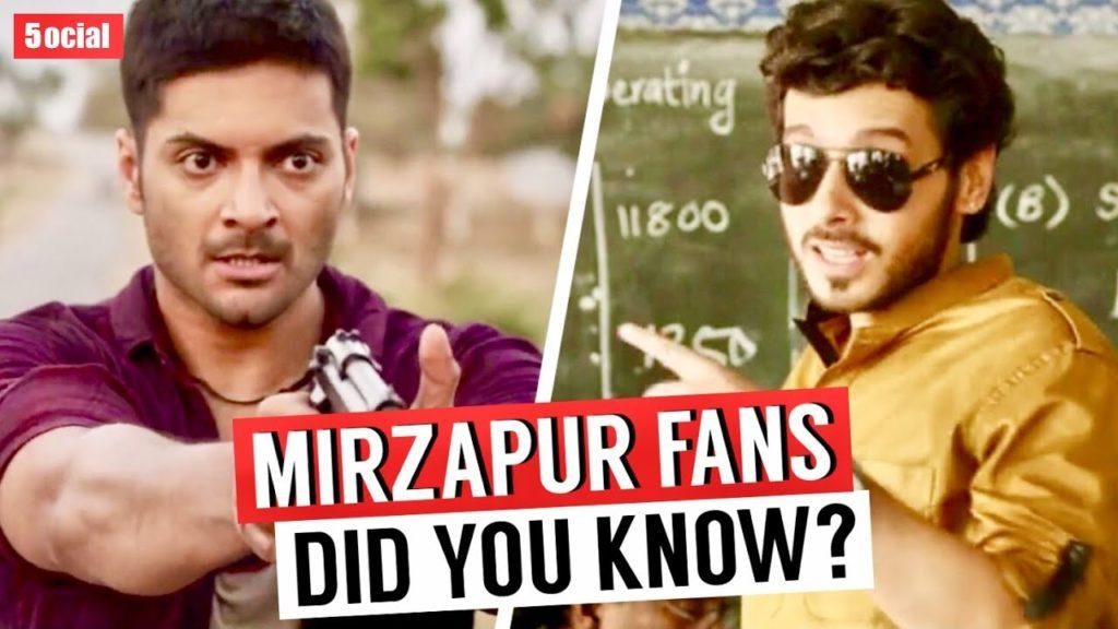 20 Facts You Didn't Know About Mirzapur