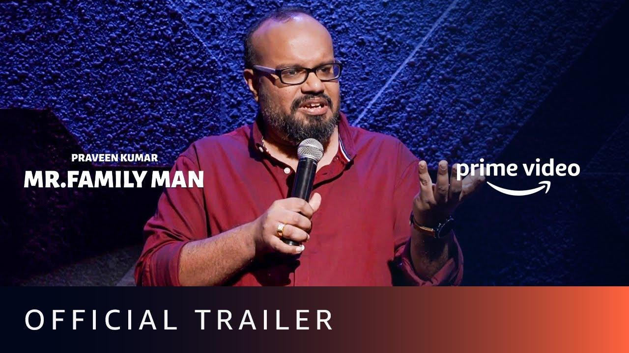 Mr. Family Man – Official Trailer | Tamil Stand-up Comedy | Praveen Kumar | Amazon Prime Video