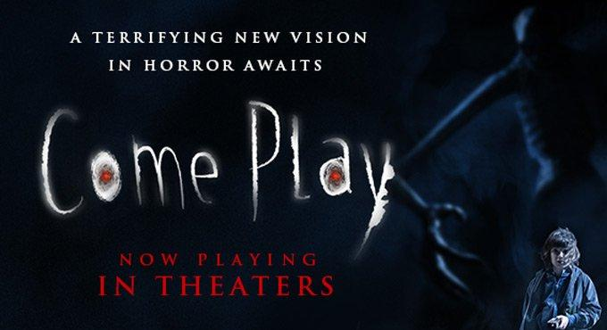 'Come Play' tops North American box office on Halloween weekend