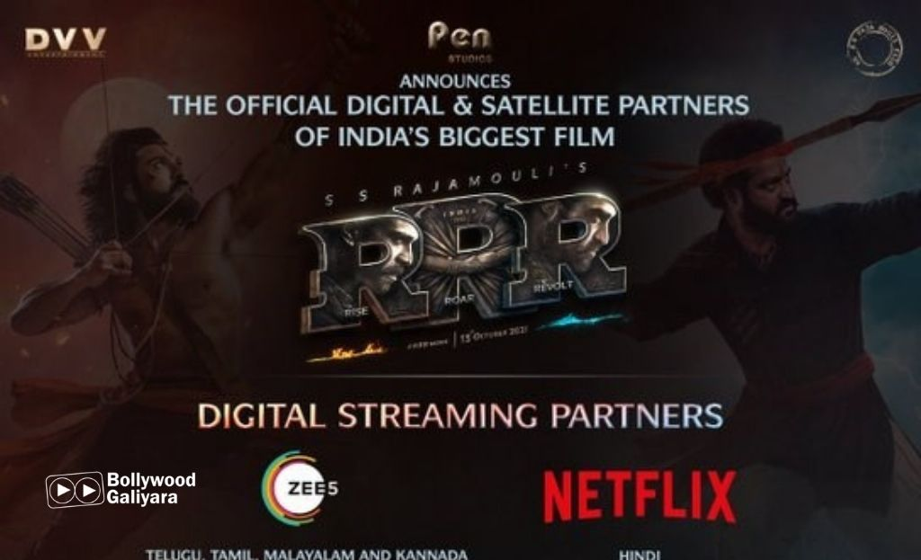 RRR Movie To Release Theatrically And Digitally, Ties Up With ZEE5, Netflix And More