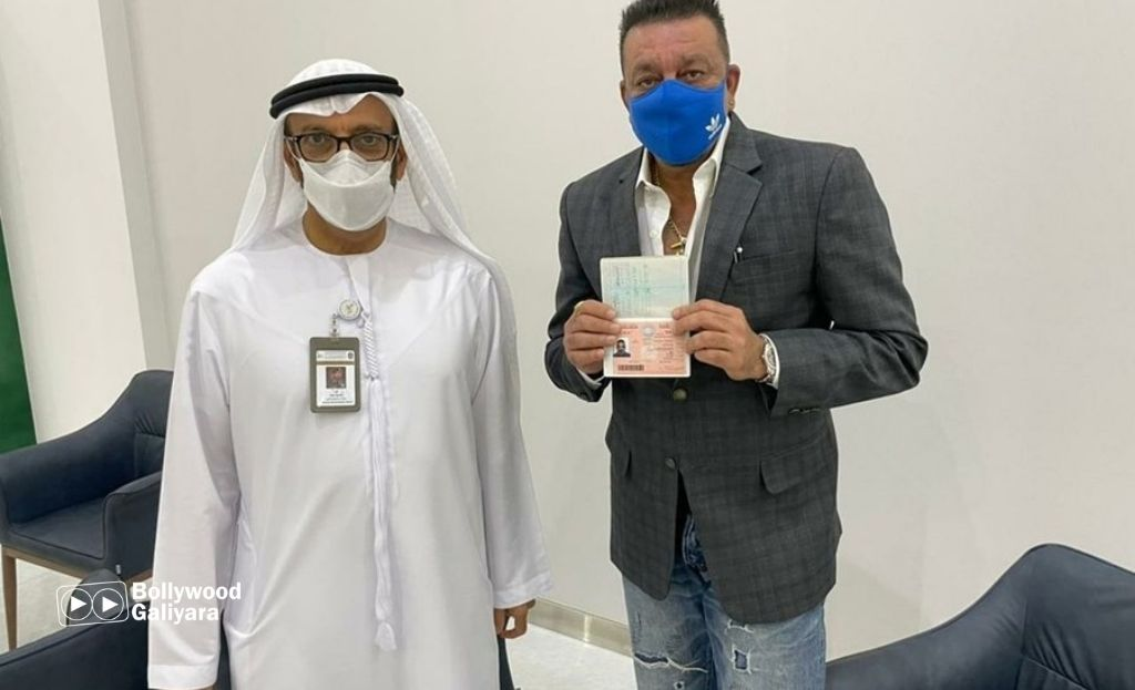 Sanjay Dutt Honoured With Golden Visa From UAE Government